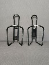 Trek Water Bottle Cages (2) Black 46 gm Aluminum No Screws