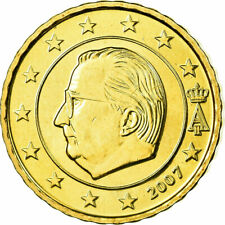[#699683] Belgique, 10 Euro Cent, 2007, FDC, Laiton, KM:242