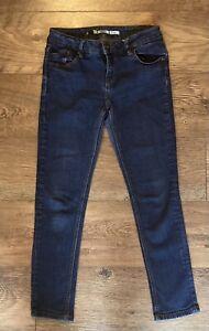 Topshop Ladies Pippa Dark Blue Skinny Jeans UK Size 12 L 29 Petite Leg