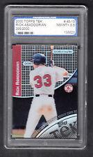Rick Asadoorian 2000 Topps Tek Rookie Card #45-13 Red Sox PROGRADING 8.5 NMMT+