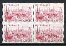 Luxemburg  892 postfris blok van 4