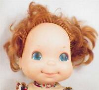 Vintage Mattel Love Notes Doll 1974 Vinyl Head Cloth Body Red Hair As Is Cond