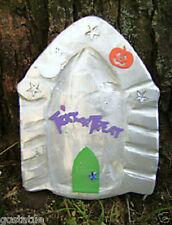 Halloween Fairy Door Mold reusable plaster cement resin wax casting mould