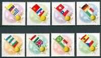 HUNGARY - 1962.AIR - World Cup Soccer Chships(Sport)Cpl.Set MNH!! Mi 1830-1837
