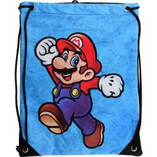Nintendo MARIO CINCH BAG -Small Drawstring wiiu Backpack Teen Boy Girl Men Women