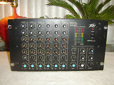 Peavey 601R, 6 Channel Mixer, with Spring Reverb, 3 Band Equalizer, Vintage Rack