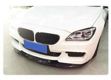 BMW F12 F13 F06 M Sport Carbon Fiber Front Add On Spoiler Lip 640 650