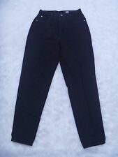 Gitano Jeans Women's  Size 10/12 Slim Pants Black Denim, Inseam 31""