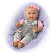Ashton Drake - Itty Bitty Kitty Lifelike Baby Girl Doll by Ping Lau