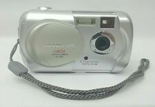 "Olympus CAMEDIA D-390 Digital Camera Point & Shoot 2.0MP 1.8"" 3x DZ Silver"