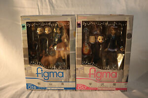 Figma K-ON set of all 5 Girls Full band! Used Complete!