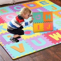 26pcs LARGE Alphabet Numbers EVA Floor play Mat Baby Room Jigsaw ABC foam Puzzle