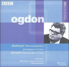 Beethoven: Piano Concerto No. 5; Variations (32) in C minor; Schubert: Piano Son