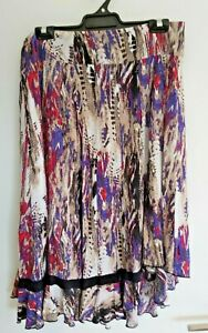 LADIES Colourful Skirt sz 12 by YVONNE BLACK
