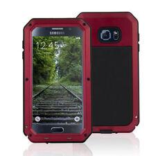 Housses et coques anti-chocs rouge en métal pour téléphone mobile et assistant personnel (PDA)