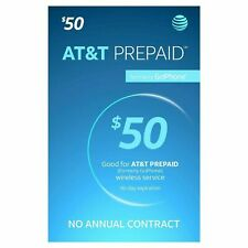 AT&T Prepaid Plans $50 + 1st Month Service (30 days Service) Pre-Loaded Sim Card