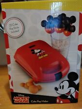 Disney Mickey Mouse Shaped Party Cake Pop Maker Birthday Babycakes Mini Red