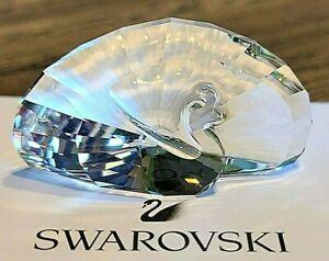 Swarovski Crystal 2015, Limited Ed., SCS Peacock Figurine / Paperweight, Box