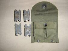 odgreen army m1garand rifle carabine NOS wwII ammo clips magazine belt pouch USA