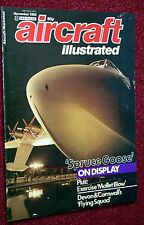 Aircraft Illustrated 1983 November RAFG Buccaneer,Guernsey Airlines,CL-215,G-91