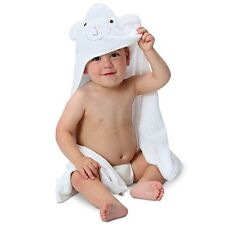 Bamboo Hooded Baby Towel 100% Organic Unisex Towel Highly Absorb vegan eco NEW