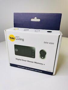 Yale Smart Living Digital Door Viewer Memory+ - DDV 4500 - New & Sealed