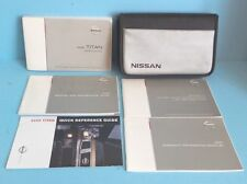 05 2005 Nissan Titan owners manual