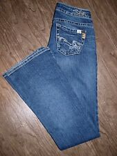 Silver Jeans Tuesday Size 25x33 Womens Low Rise Boot Cut Jeans