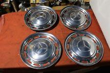 Mercedes Oldtimer 4x Radkappen 14Zoll Chrom W108 W116 W118 W123 Pagode /8