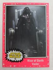 2015  Star Wars: Journey to The Force Awakens #19 Rise of Darth Vader PINK