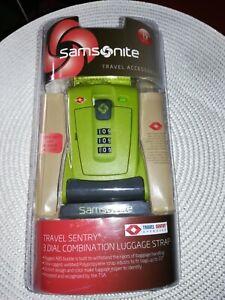 Samsonite Travel sentry 3 Dial Combination Luggage Strap