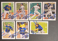 2021 TOPPS OPENING DAY MASTER TEAM SET MILWAUKEE BREWERS 7 CARDS