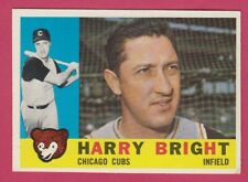 1960 Topps # 277 Harry Bright -- Chicago Cubs -- Box 722-144A