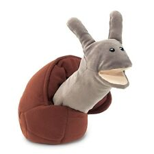 Snail Hand Puppet  with Easily Moved Mouth & Neck, Folkmanis MPN 2028, 3 & Up,