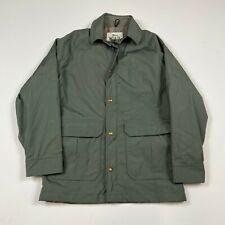 Vintage Woolrich Mountain Parka 60/40 Green Gray size Medium?