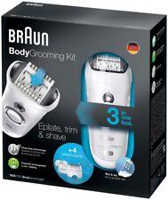 Braun BGK7050 Body Grooming Kit (Epilate, Trim & Shave - 3 in 1)