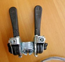 Vintage Shimano Friction Stem Shifters with cables NOS. 10-12 Speed -Superlight!