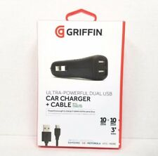 Griffin Technology PowerJolt Dual Mobile for USB Devices and Tablets