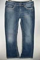 Silver Lola Bootcut Jeans Stretch Womens Boot Cut Tag Size 30x31 Meas. 31x31