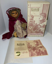 Raikes Original Sherwood Forest Doll MARIAN Hedgehog 1989 w/tags COA-New in Box!