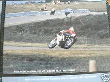 S0237-PHOTO- ROB BRON YAMAHA 250 CC ASSEN 1973 NO 29 CANON SHELL MOTO GP