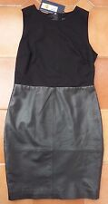 MARKS & SPENCER - Tunic dress - Leather skirt - NEW - £199 - 10 Petite - REDUCED