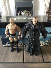 WWE Mattel piedra fría & El Enterrador Lote de 6 pulgadas Figura