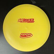 XT RocX3 (180g, Yellow & Red, Overstable Midrange) [Innova Champion Discs]