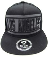 64d3a002f4b LA City LOS ANGELES CA Snapback Cap Hat California OSFM Adjustable NWT