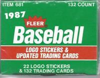 1987 Fleer Update Pick Your Player