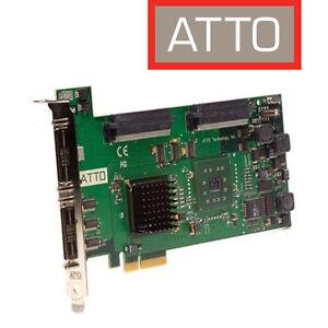 ATTO ExpressPCI UL5D Ultra320 ADS SCSI Host Adapter für Mac, Win, Linux u.a.
