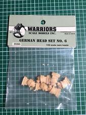 WARRIORS SCALE MODELS INC. 35065 - GERMAN HEAD SET NO. 6 - 1/35 RESIN KIT