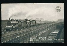 Railway L&NWR London-Carlisle Special 1903 Official PPC