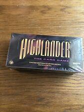 1 box highlander the card game Starter Decks. 12 Starter Decks Per Box.